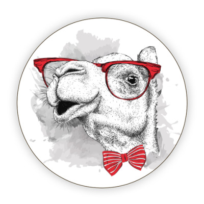 Костер (подставка под кружку) Верблюд