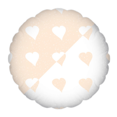 Подушка Нежные сердечки