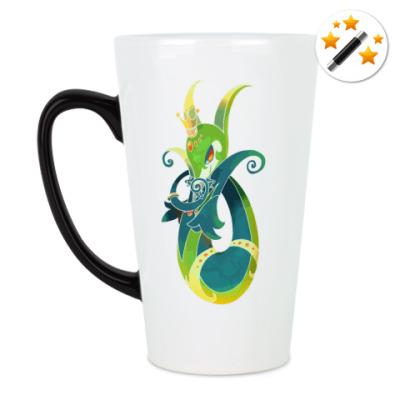 Кружка-хамелеон Змейка