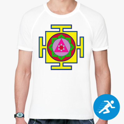 Спортивная футболка Ганеша-янтра