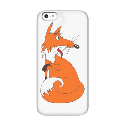 Чехол для iPhone 5c Fanny fox