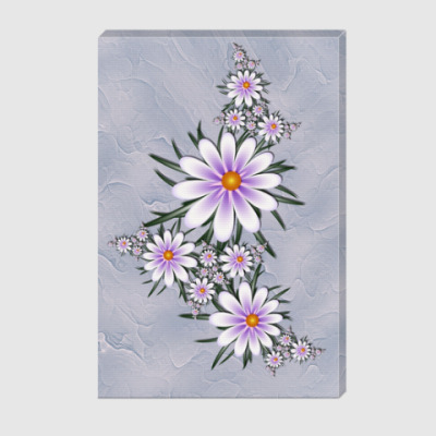 Холст Нежные цветы