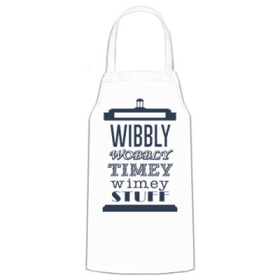Фартук Wibbly Wobbly Timey Wimey Stuf