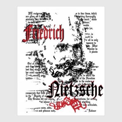 Постер Философ Фридрих Ницше