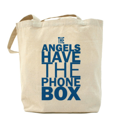 Сумка The Angels have the phone box