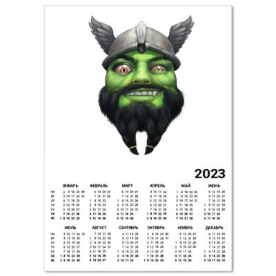 Календарь Викинг