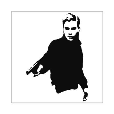 Наклейка (стикер) Стрелок Московского Метро