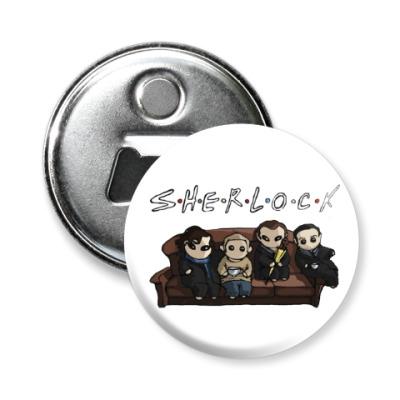 Магнит-открывашка Sherlock