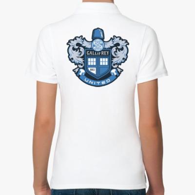 Женская рубашка поло Gallifrey United