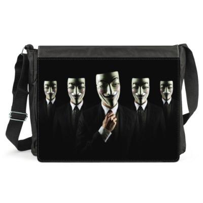 Сумка Anonymous, we are Legion!