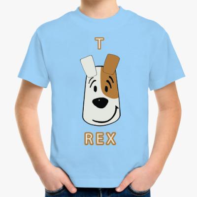 Детская футболка Т-Рекс