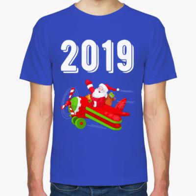 Футболка Flying Santa 2019