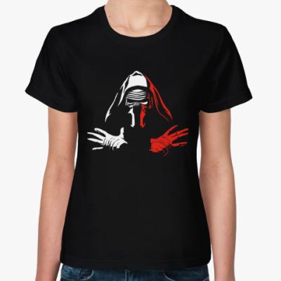Женская футболка Звездные войны Кайло Рен