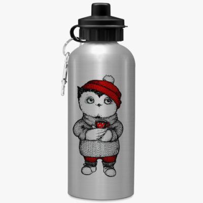 Спортивная бутылка/фляжка Кофе с собой