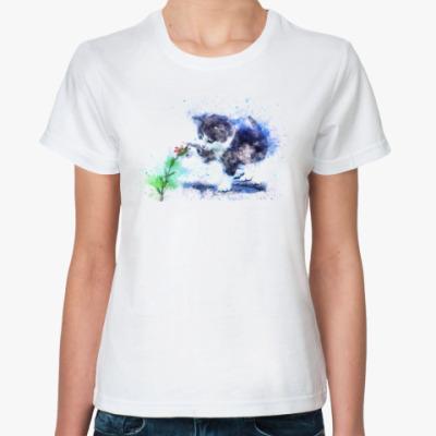 Классическая футболка Котёнок