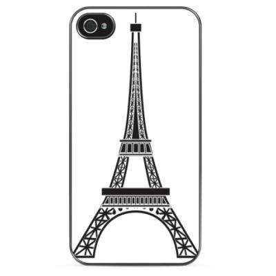 Чехол для iPhone 'Эйфелева башня'