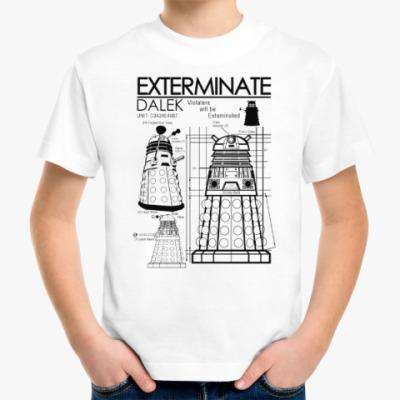 Детская футболка Dalek plan