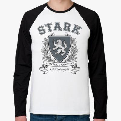 Футболка реглан с длинным рукавом House Stark