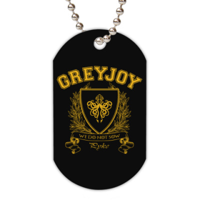 Жетон dog-tag House Greyjoy