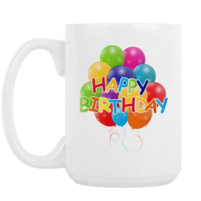 Кружка Happy Birthday