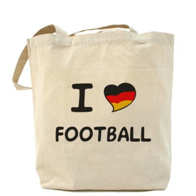 Сумка Я люблю немецкий футбол