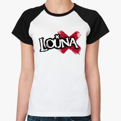 Женская футболка реглан Футболка Реглан женская ВремяХ