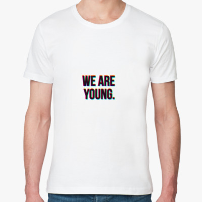 Футболка из органик-хлопка We are young.