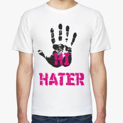 Футболка HI HATER / BYE HATER