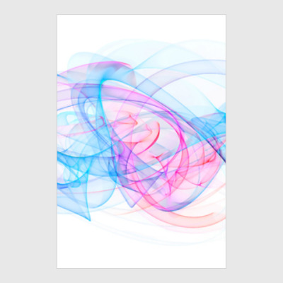 Постер digital abstract art design