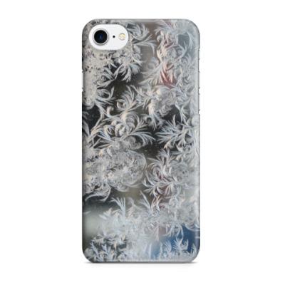 Чехол для iPhone 7/8 морозный узор
