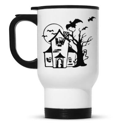 Кружка-термос Хеллоуин