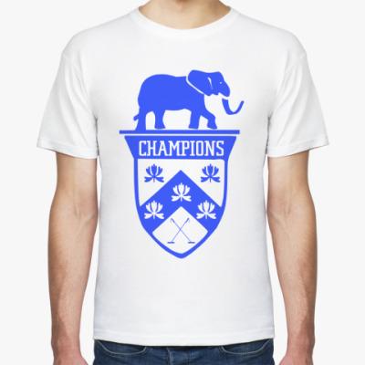 Футболка Поло на слонах