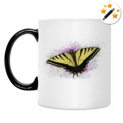 Кружка-хамелеон Бабочка
