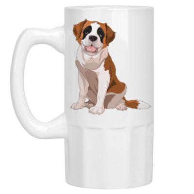 Пивная кружка Милая Собака