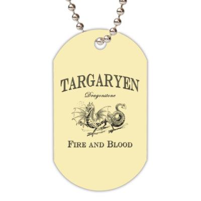 Жетон dog-tag Targaryen