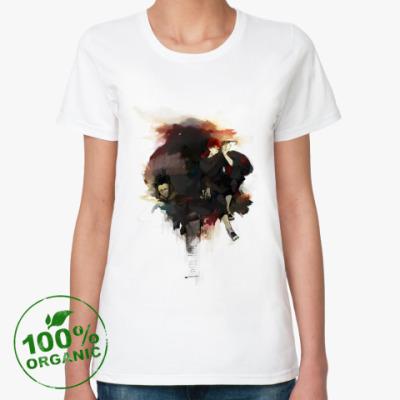Женская футболка из органик-хлопка  sasori
