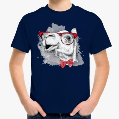 Детская футболка Верблюд