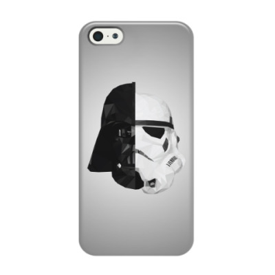Чехол для iPhone 5/5s Star Wars: Вейдер и Штурмовик