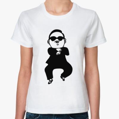Классическая футболка В стиле гангнам (gangnam)