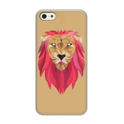 Чехол для iPhone 5/5s Лев / Lion