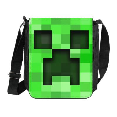 Сумка на плечо (мини-планшет) Minecraft Creeper