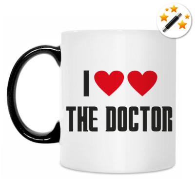 Кружка-хамелеон I LOVE THE DOCTOR