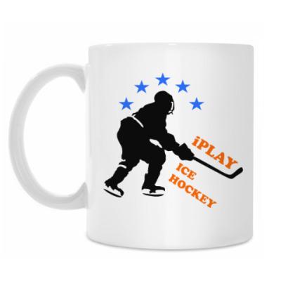 Кружка Я играю в хоккей