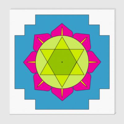 Холст Рама-янтра для медитаций