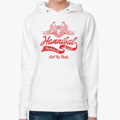 Женская толстовка худи Hannibal