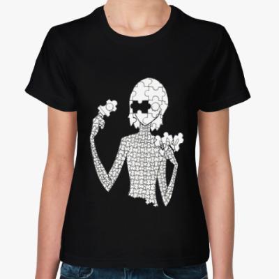 Женская футболка Деталь