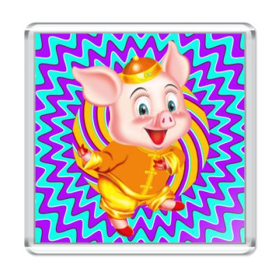 Магнит Happy Piggy Year
