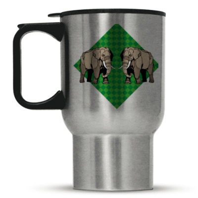 Кружка-термос Слоны