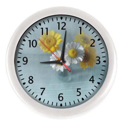 Настенные часы Ромашки и пупавки