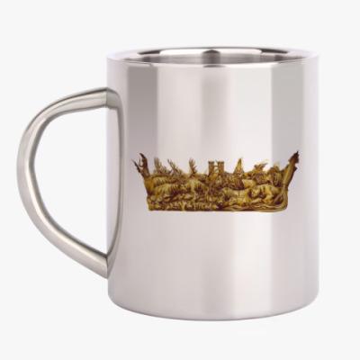 Кружка металлическая Игра Престолов: Корона